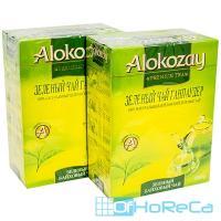 Чай зеленый листовой   100г   ''ALOKOZAY''   1/40