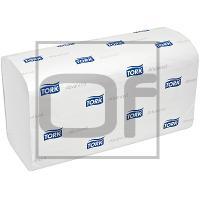 Полотенце бумажное листовое   230х248 мм 2-сл 250 лист/уп ZZ-сложения TORK H3 ADVANCED с серым тиснением БЕЛОЕ   ''SCA''   1/150