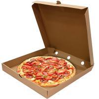 Коробка для пиццы ДхШхВ 355х355х40 мм квадратная КАРТОН КРАФТ 1/50