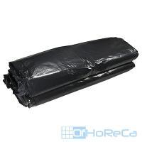 Мешок (пакет) мусорный   240л 840х1350 мм 80 мкм в пластах ПВД ЧЕРНЫЙ   1/50/200