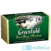 Чай черный пакетированный   25 шт в индивидуальной упак GREENFIELD EARL GREY FANTASY   ''О''   1/1