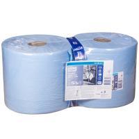 Материал протирочный бумажный 3-сл 119 м в рулоне Н235хD262 мм TORK СИНИЙ SCA 1/2