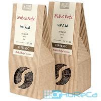 Кофе зерновой   200г ESPRESSO VIP A.M. твердая упаковка   ''ЖИВОЙ КОФЕ''   1/1