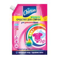Средство для стирки жидкое 1л для детского белья CHIRTON Doy-Pack GD 1/6