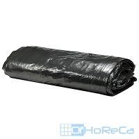 Мешок (пакет) мусорный   120л 700х1100 мм 40 мкм в пластах ПВД ЧЕРНЫЙ   1/50/200