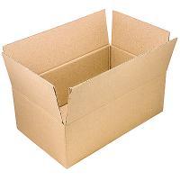 Коробка ДхШхВ 380х253х237мм для упаковки КРАФТ КАРТОН 1/25