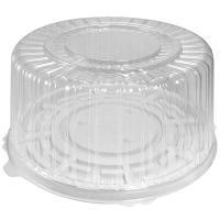 Упаковка кондитерская (тортница) Н126хD270 мм на 1,5 кг круглая дно+крышка К 1/100