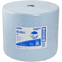 Материал протирочный бумажный 3-сл 285 м в рулоне Н320хD380 мм WYPALL L30 СИНИЙ KIMBERLY-CLARK 1/1