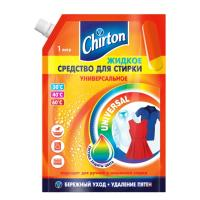 Средство для стирки жидкое 1л для любых видов тканей CHIRTON Doy-Pack GD 1/6