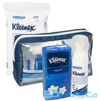 Набор гигиенический 3 предмета для дезинфекции рук в косметичке KIMBERLY-CLARK 1/24