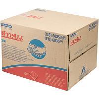 Материал нетканый в листах 1-сл 200 шт ДхШ 420х310 мм WYPALL X60 коробка-диспенсер БЕЛЫЙ KIMBERLY-CLARK 1/1