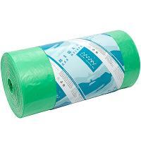 Мешок (пакет) мусорный 120л 700х1100 мм 20 мкм ПНД ЗЕЛЕНЫЙ ALMIN 1/50/600