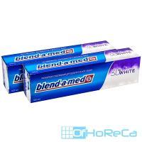 Зубная паста BLEND-A-MED 100мл 3D WHITE трехмерное отбеливание P&G 1/12