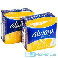 Прокладки ALWAYS   10 шт в индивидуальной упак ULTRA лайт   ''P&G''   1/16