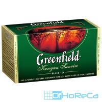 Чай черный пакетированный   25 шт в индивидуальной упак GREENFIELD KENYAN SUNRISE   1/1