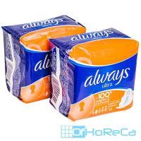 Прокладки ALWAYS   10 шт в индивидуальной упак ULTRA нормал плюс   ''P&G''   1/16