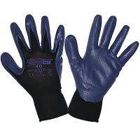 Перчатки рабочие с нитриловым покрытием размер 9 G40 СИНИЕ KIMBERLY-CLARK 1/12/60