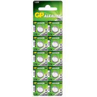 Батарейка А76 10 шт/уп GP LITHIUM в блистере GP 1/1