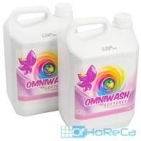 Средство для стирки жидкое 5л для деликатных тканей концентрат OMNI WASH SOFTENER CID LINES 1/4