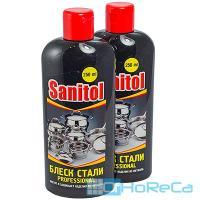 Средство чистящее 250мл для нержавеющей стали и других металл поверхностей SANITOL GF 1/16