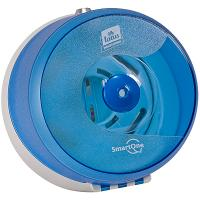Диспенсер ДхШхВ 240х181х234 мм WAWE для туалетной бумаги TORK SMARTONE (арт.472025) ПЛАСТИКОВЫЙ СИНИЙ SCA Б/У 1/1