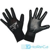 Перчатки рабочие с полиуретановым покрытием размер 9 G40 ЧЕРНЫЕ KIMBERLY-CLARK 1/12/60