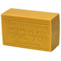 Мыло хозяйственное 200г 72% без упаковки ТЕМНОЕ 1/60