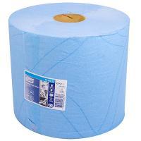 Материал протирочный бумажный 2-сл 255 м в рулоне Н340хD235 мм TORK СИНИЙ SCA 1/2
