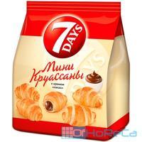 Круассаны 105г 7 DAYS с кремом какао 1/1