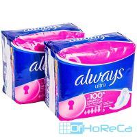 Прокладки ALWAYS   8 шт в индивидуальной упак ULTRA супер плюс   1/20