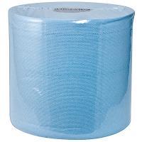Материал протирочный бумажный 1-сл 200 м в рулоне Н185хD200 мм WYPALL L10 с центр вытяжением СИНИЙ KIMBERLY-CLARK 1/6