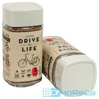 Кофе растворимый   100г DRIVE FOR LIFE MEDIUM в стекле   ''ЖИВОЙ КОФЕ''   1/1